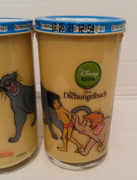 Bautzner KinderSenf Dschungelbuch Mogli Bär Balu Disney Sammelglas