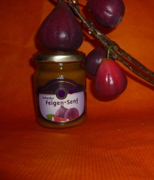 Feigen Senf 143 ml pikant süß angenehm scharf