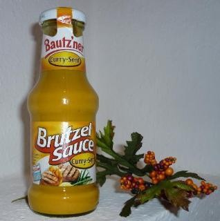 Bautzner Brutzel Sauce CURRY 250ml