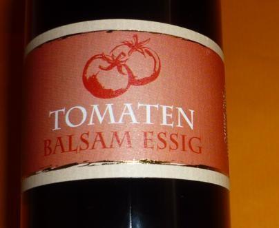Essig - Tomaten Balsam 250 ml 5%Säure
