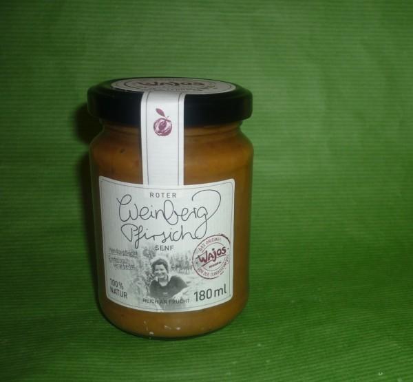 Roter Weinberg Pfirsich Senf 180ml