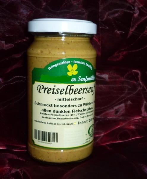 Preiselbeer Senf 190ml vegan