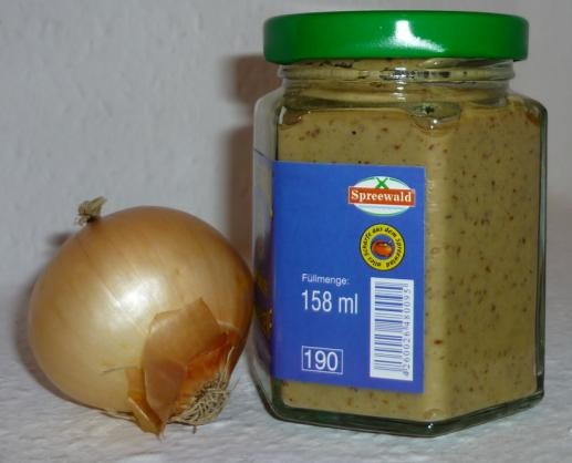Zwiebel Spreewald Senf 158ml