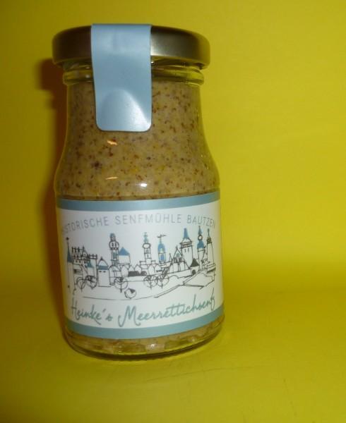 HammerMühle Bautzen Meerrettich-Senf - halbgrob 100 ml