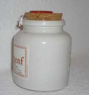 Bio Senf classic 250ml im Porzellantopf