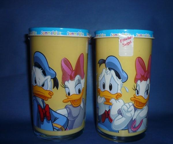 Bautzner KinderSenf Daisy + Donald Duck Sammelglas