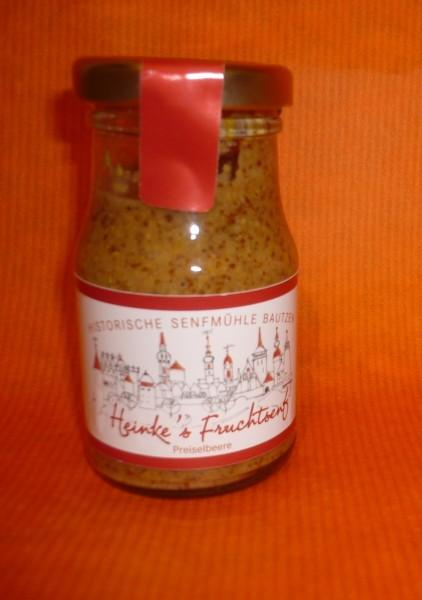 HammerMühle Bautzen Preiselbeer Senf süß - halbgrob 100 ml