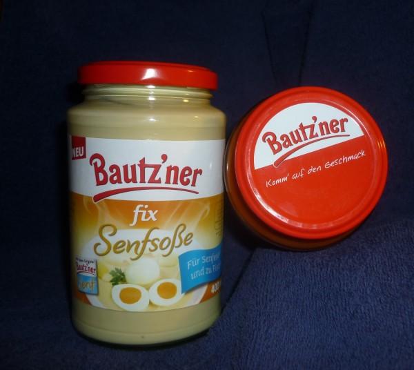Bautzner Senfsoße fix und fertig für Senfeier + Fisch 400ml