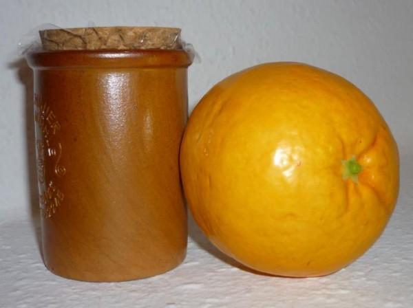 Orangen Senf 100ml Moutarde de Monschau