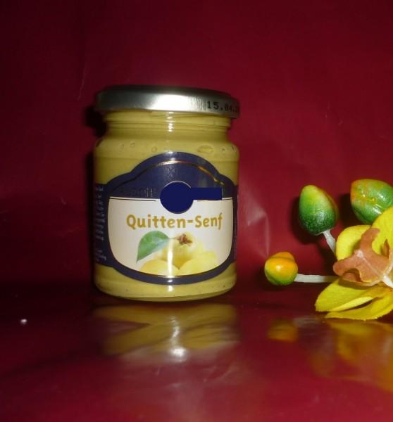 Quitten Senf fein fruchtig süß - 143ml
