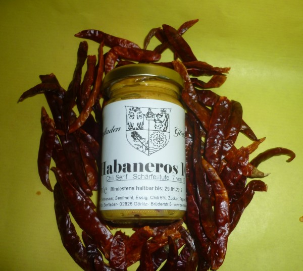 Chili Senf HABANEROS 100 ml