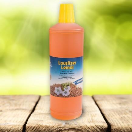 Öl - LeinÖl Lausitzer kaltgepresst 1000 ml Sachsen -