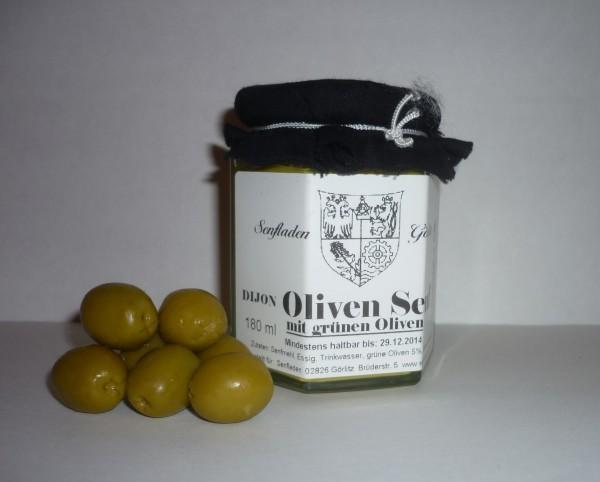 Dijon Oliven Senf 180ml
