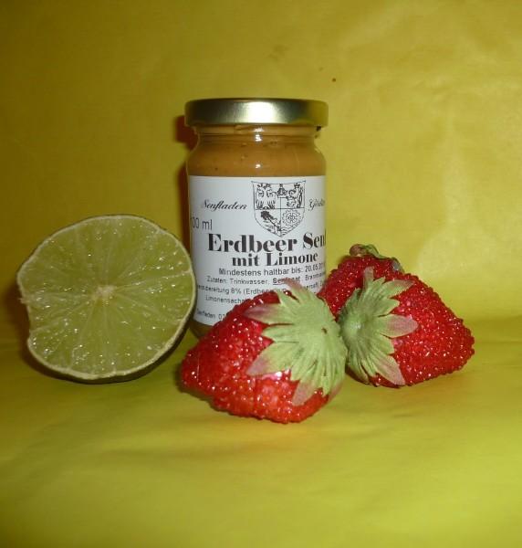 Erdbeer Limonen Senf 100ml fruchtig frisch