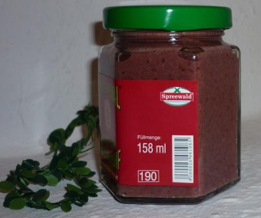 Preiselbeer Ganzkorn Senf Spreewald 170ml