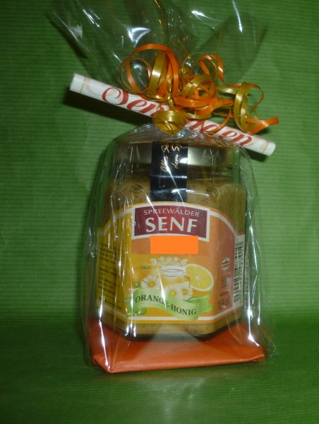 Orangen Honig Spreewald Senf Geschenkverpackung
