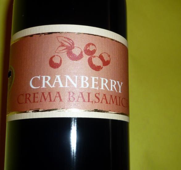 Essig - Cranberry Crema Balsamica vegan 250 ml 3%Säure