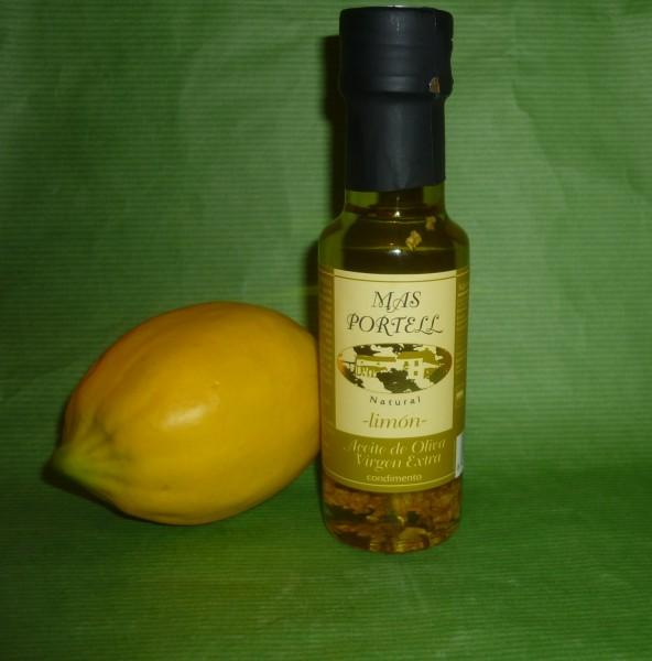 Öl - Zitrone Limon Schalen auf Olivenöl 125 ml Spanien lemon