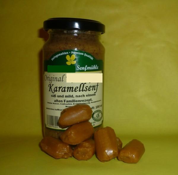 karamell Senf, süß, mittelscharf, 190 ml