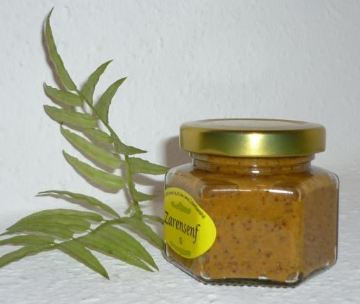 Mexikanischer Senf 105ml ( Knoblauch + Jalapeno Chili )