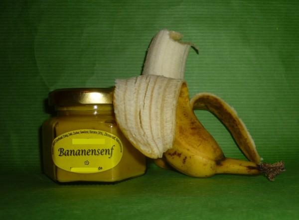 Bananen Senf 105ml fruchtig süß
