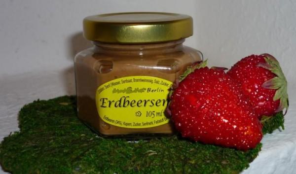 Erdbeer Senf ( mit Kapern) 105ml fruchtig herb