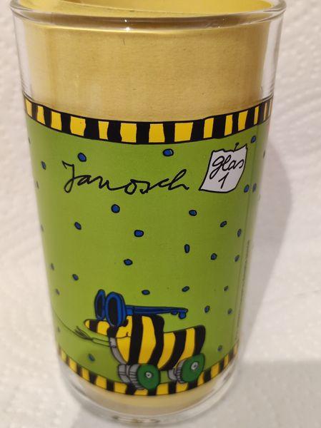 Janosch Tigerente, Sammelglas Trinkglas -Nr 1 Hengstenberg