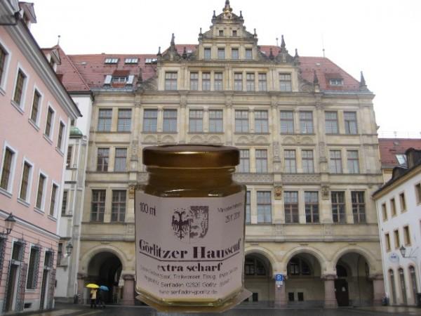 Görlitzer HausSenf fein - extra scharf- 100ml