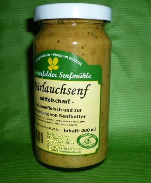Bärlauch Senf 190ml vegan