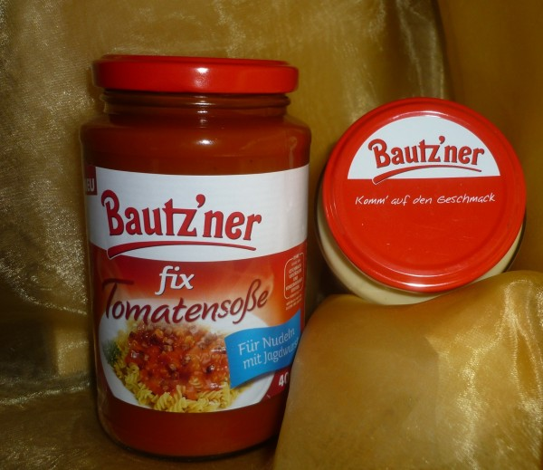 Bautzner Tomatensoße fix und fertig 400ml vegan