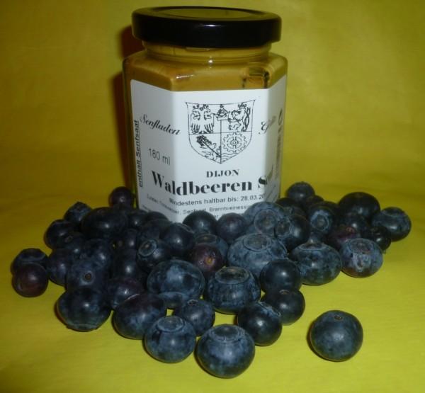 Dijon Waldbeeren Senf 180ml ( Blaubeere )