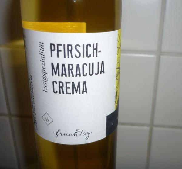 Essig -Pfirsich - Maracuja 250 ml 3%Säure Aperitif Passionsfrucht