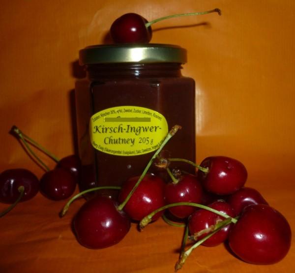 Chutney - Kirsch Ingwer 205ml