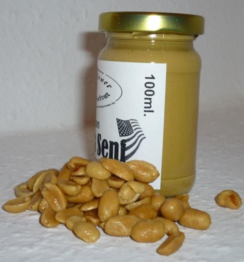 American Peanuts Senf 100ml - Erdnüsse -