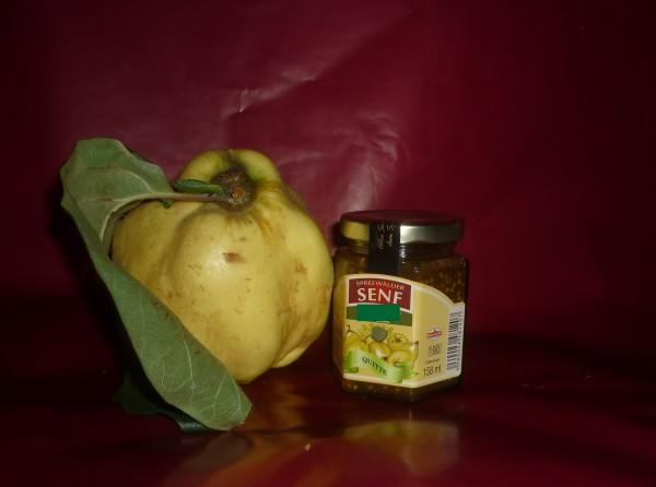 Quitten -Senf- Spreewald 170ml - süß - Ganzkorn