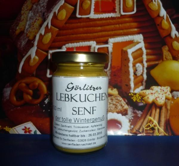 Görlitzer weihnachtl. Lebkuchen Senf 100ml