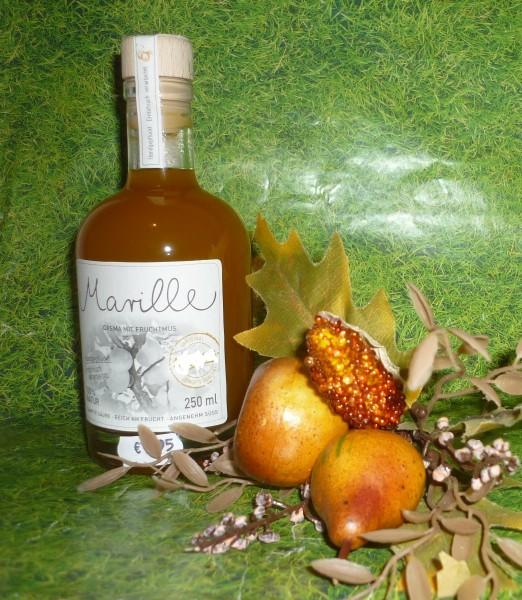 Essig - Marillen/ Aprikosen crema m.Fruchtmus 250 ml 4%Säure vegan