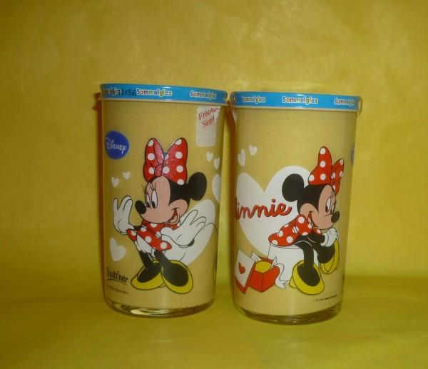 Bautzner KinderSenf Minnie Maus Disney Sammelglas -