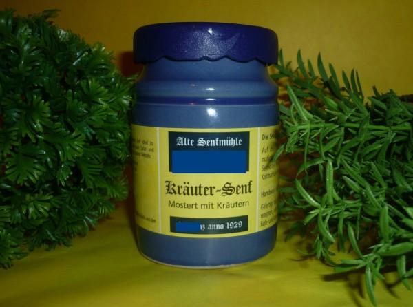 Kräuter Senf 200ml mit sanfter Estragon Note - Familienrezept