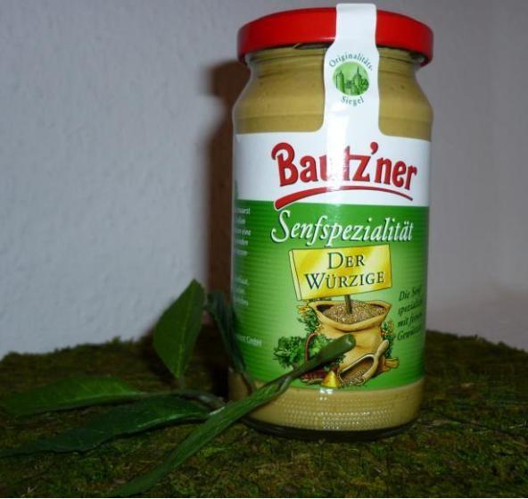 Bautzner Senf der Würzige 200ml vegan