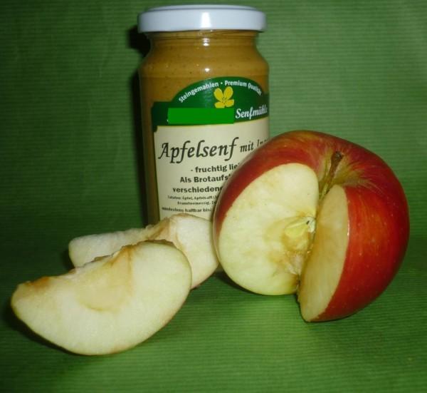 Apfel Senf 190ml fruchtig, lieblich vegan