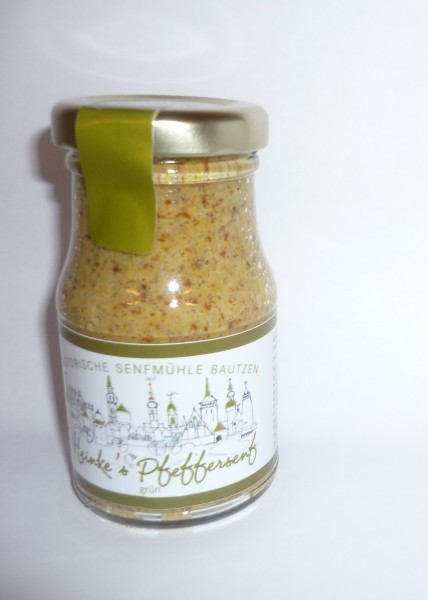 HammerMühle Bautzen Pfeffer-Senf - halbgrob 100 ml