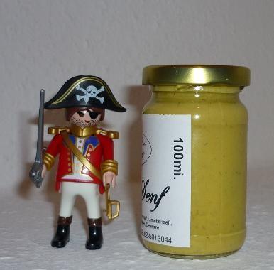 Piratensenf Senf 100ml (Jamaica Rum)