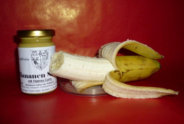 Bananen Senf exotisch Curry 100ml