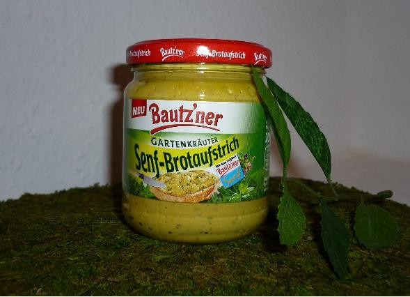 Bautzner Senf - Brotaufstrich Gartenkräuter 200ml