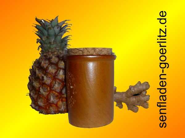 Ingwer Ananas Senf 100ml Moutarde de Monschau