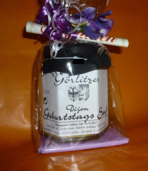Geburtstags - Senf für SIE i.Geschenkverpackung