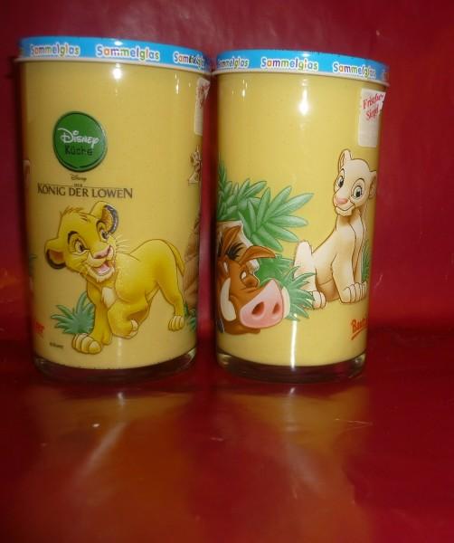 Bautzner KinderSenf König der Löwen Sammelglas Simba