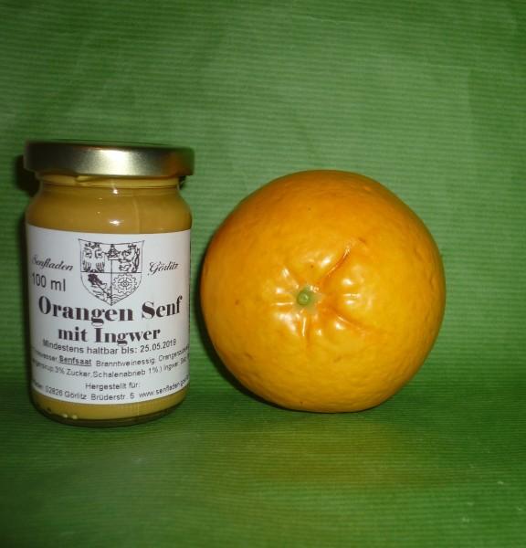 Orangen Ingwer Senf 100ml