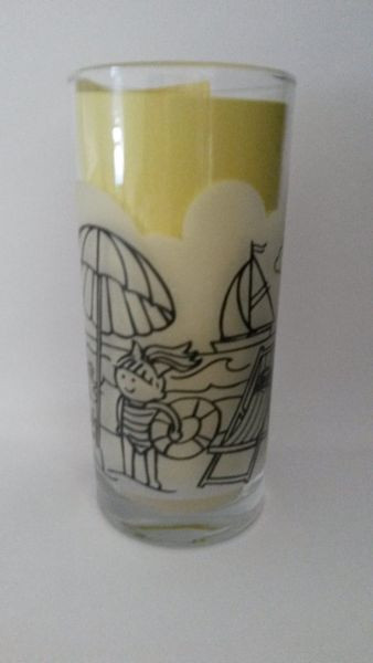 Sammelglas Bad Brambacher Kindersenf Trinkglas